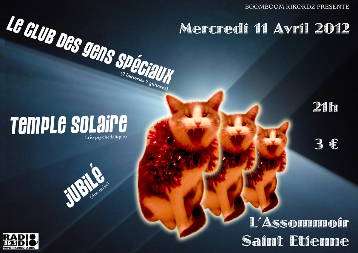 Affiche concert Saint Etienne